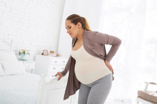 ألم مفصل الفخذ للحامل